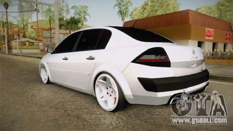 Renault Megane for GTA San Andreas left view