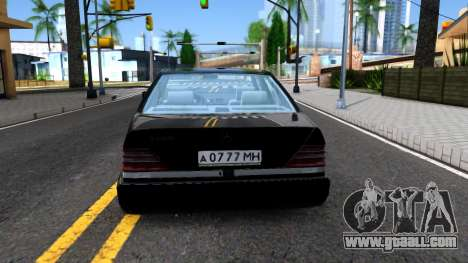 Mercedes-Benz W140 S600 From