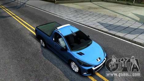 Peugeot Hoggar for GTA San Andreas right view
