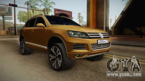 Volkswagen Touareg for GTA San Andreas right view