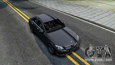Mercedes-Benz C250 AMG Edition for GTA San Andreas right view