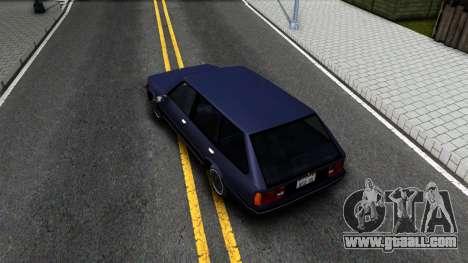 BMW 3-er E30 Touring SA Style for GTA San Andreas back view