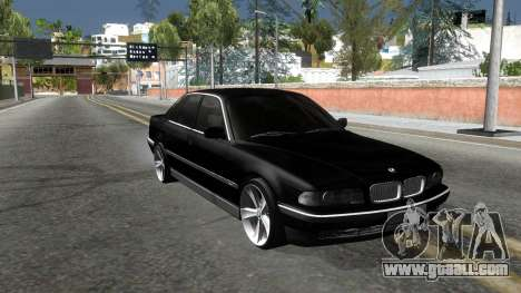 BMW 730i E38 for GTA San Andreas right view
