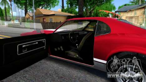 Sabre Turbo GTA 5 for GTA San Andreas inner view