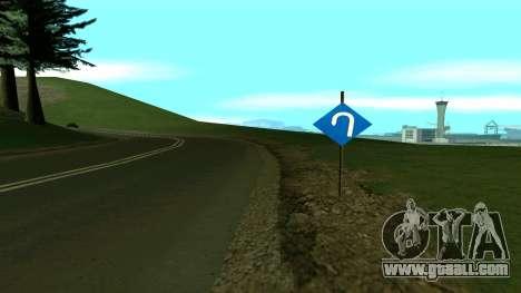Russian roads for GTA San Andreas eighth screenshot