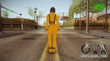 Mirrors Edge Catalyst - Faith (Prison) for GTA San Andreas third screenshot