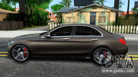 Mercedes-Benz C250 AMG Edition for GTA San Andreas left view