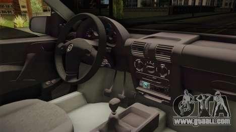 Chevrolet Corsa 1.4 for GTA San Andreas inner view