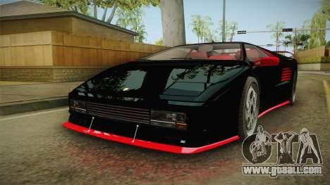 GTA 5 Pegassi Infernus Classic IVF for GTA San Andreas