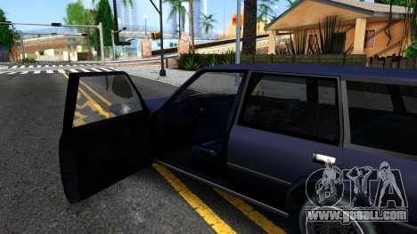 BMW 3-er E30 Touring SA Style for GTA San Andreas inner view