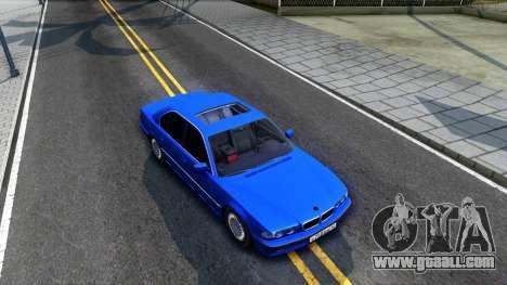 BMW 750iL E38 2001 for GTA San Andreas right view