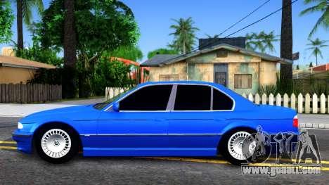 BMW 750iL E38 2001 for GTA San Andreas left view