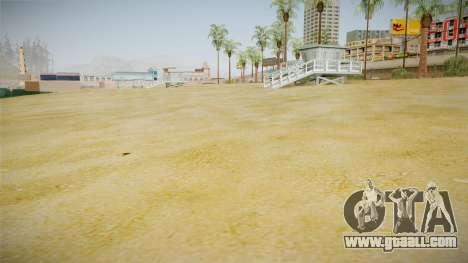Beach of Santa Maria in HD and HQ v0.1 for GTA San Andreas second screenshot