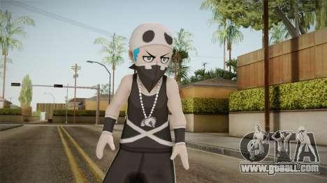 Pokemon Sun Moon - Team Skull Grunts v2 for GTA San Andreas