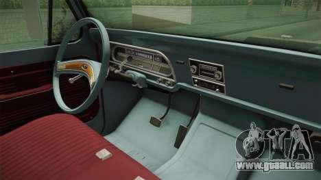 Ford F-150 1972 Levantado for GTA San Andreas side view
