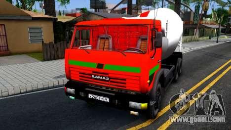 KAMAZ 65115 v2 for GTA San Andreas