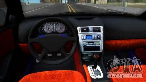 Mitsubishi Galant VR-4 for GTA San Andreas inner view