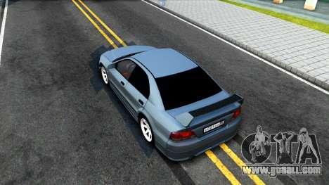 Mitsubishi Galant VR-4 for GTA San Andreas back view