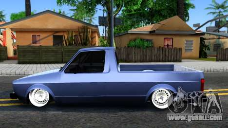 Volkswagen Caddy 1980 for GTA San Andreas left view