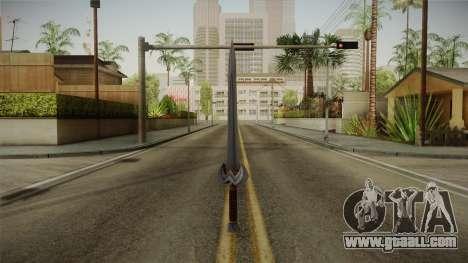 Injustice: Gods Among Us - Amazonian Sword for GTA San Andreas second screenshot