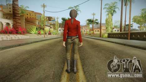 Uncharted 3 - Chloe Frazer for GTA San Andreas third screenshot