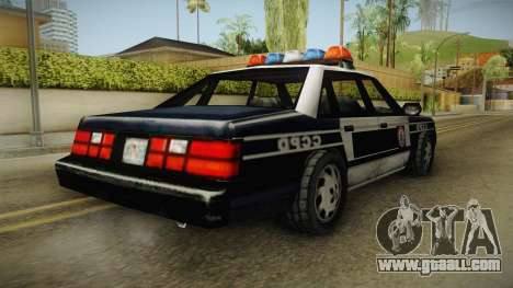 Manhunt (GTA VC) Police CCPD for GTA San Andreas right view