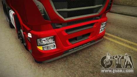 Iveco Stralis Hi-Way 560 E6 6x4 v3.1 for GTA San Andreas upper view