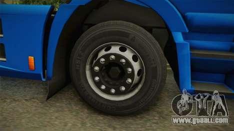 Iveco Stralis Hi-Way 560 E6 4x2 v3.2 for GTA San Andreas back view