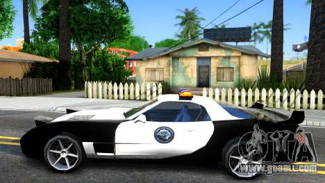 ZR-350 SFPD Police Pursuit Car for GTA San Andreas left view