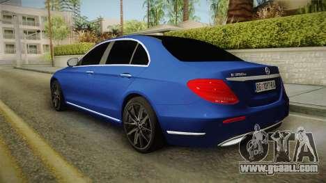 Mercedes-Benz E530 Serbian Mafia for GTA San Andreas left view