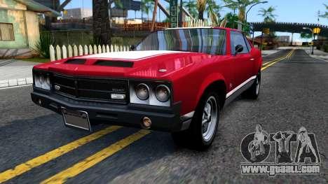 Sabre Turbo GTA 5 for GTA San Andreas