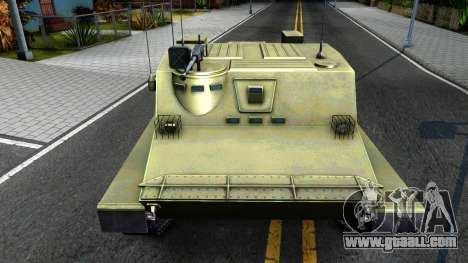 BTR-50 for GTA San Andreas inner view