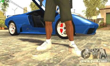 Remastered Cj Skin HD 2017 for GTA San Andreas fifth screenshot