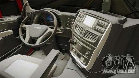Iveco Stralis Hi-Way 560 E6 6x4 v3.1 for GTA San Andreas inner view