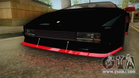 GTA 5 Pegassi Infernus Classic IVF for GTA San Andreas inner view