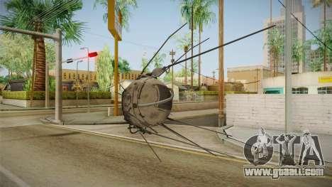 Fallout 4 - Eyebot for GTA San Andreas second screenshot