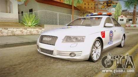 Audi A6 Turkish Police for GTA San Andreas