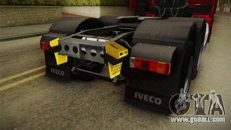 Iveco Stralis Hi-Way 560 E6 6x4 v3.1 for GTA San Andreas bottom view