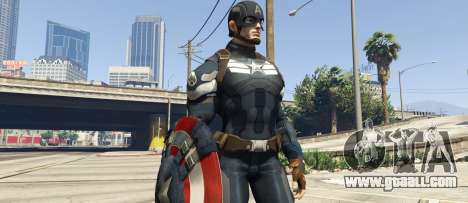 GTA 5 Captain America Shield Throwing Mod