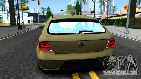 Volkswagen Gol G5 for GTA San Andreas back left view