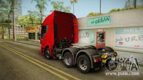Iveco Stralis Hi-Way 560 E6 6x4 v3.1 for GTA San Andreas left view