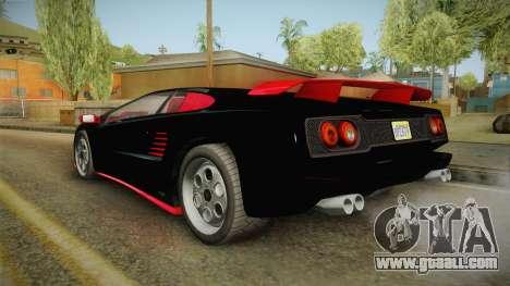 GTA 5 Pegassi Infernus Classic IVF for GTA San Andreas right view