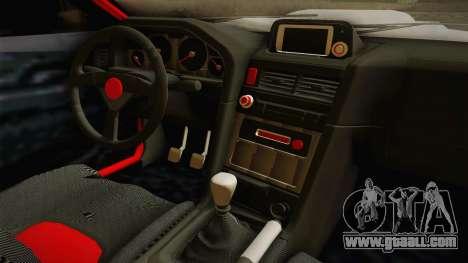 Elegy R32 for GTA San Andreas inner view