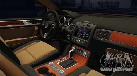 Volkswagen Touareg for GTA San Andreas inner view