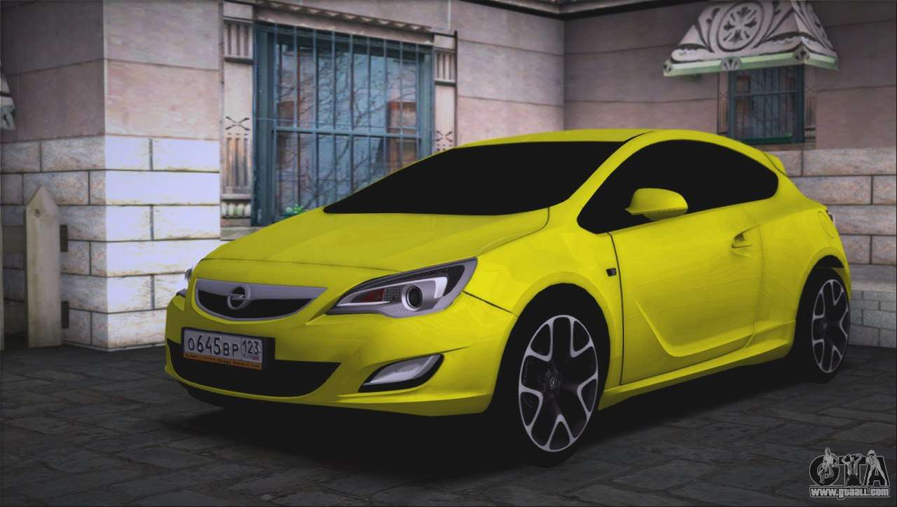 opel astra gtc for gta san andreas. Black Bedroom Furniture Sets. Home Design Ideas