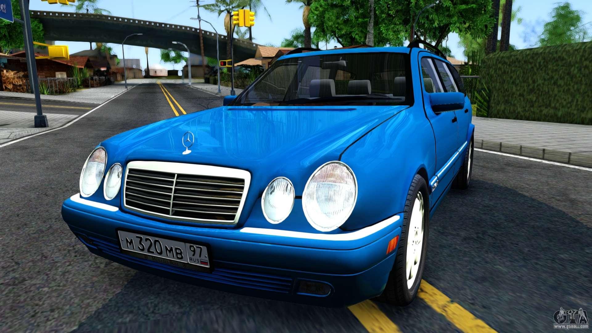 Mercedes benz w210 e320 1997 for gta san andreas for 1997 mercedes benz e320