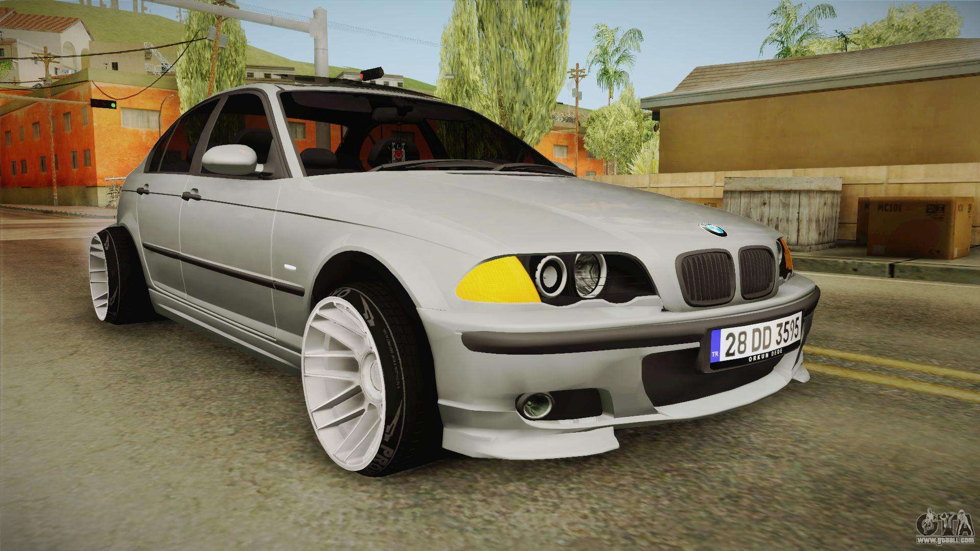 bmw 320d e46 sedan for gta san andreas. Black Bedroom Furniture Sets. Home Design Ideas