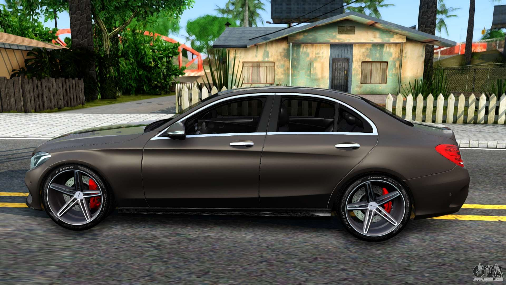mercedes benz c250 amg edition for gta san andreas. Black Bedroom Furniture Sets. Home Design Ideas