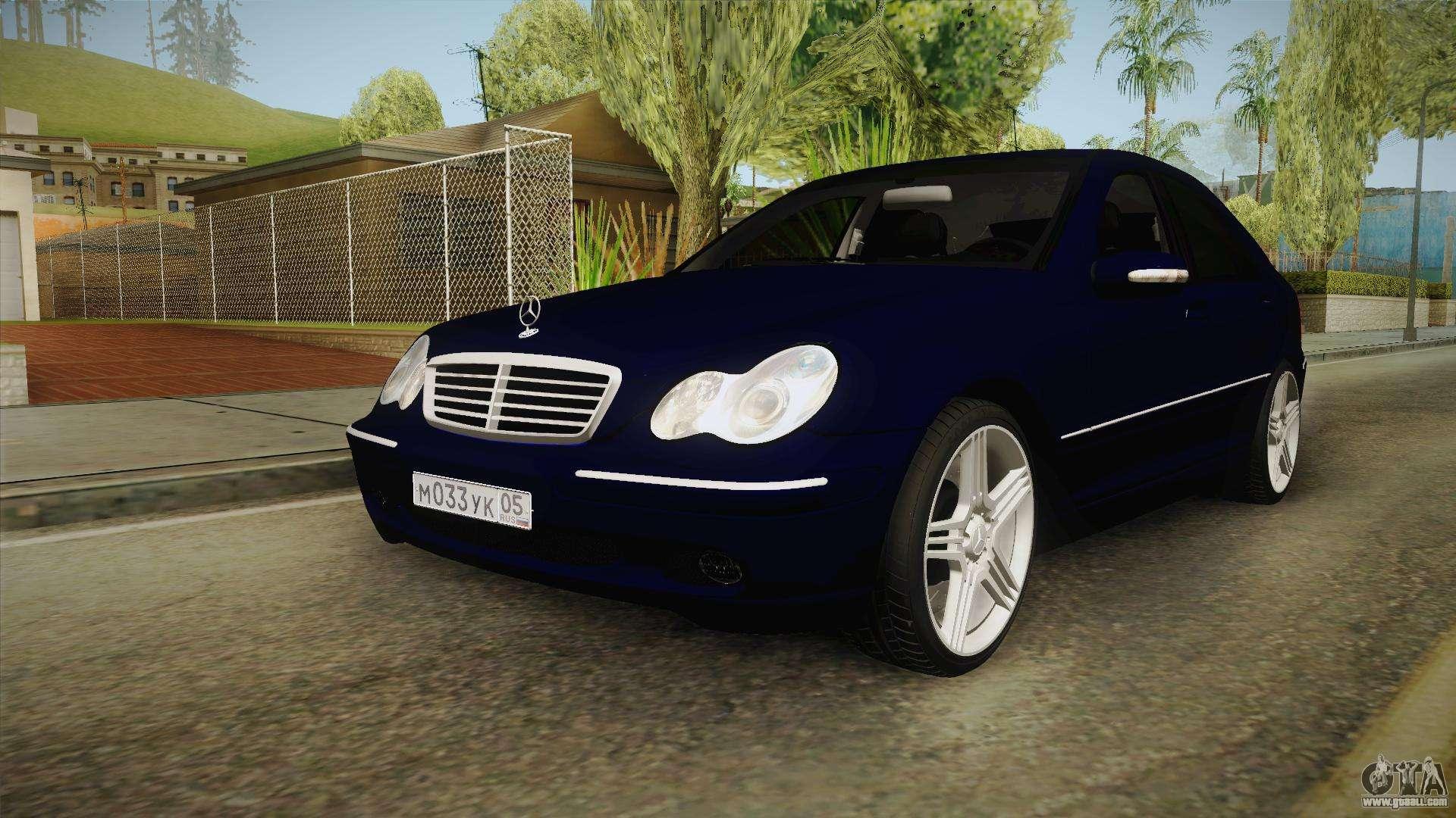 Mercedes-Benz C-Class for GTA San Andreas