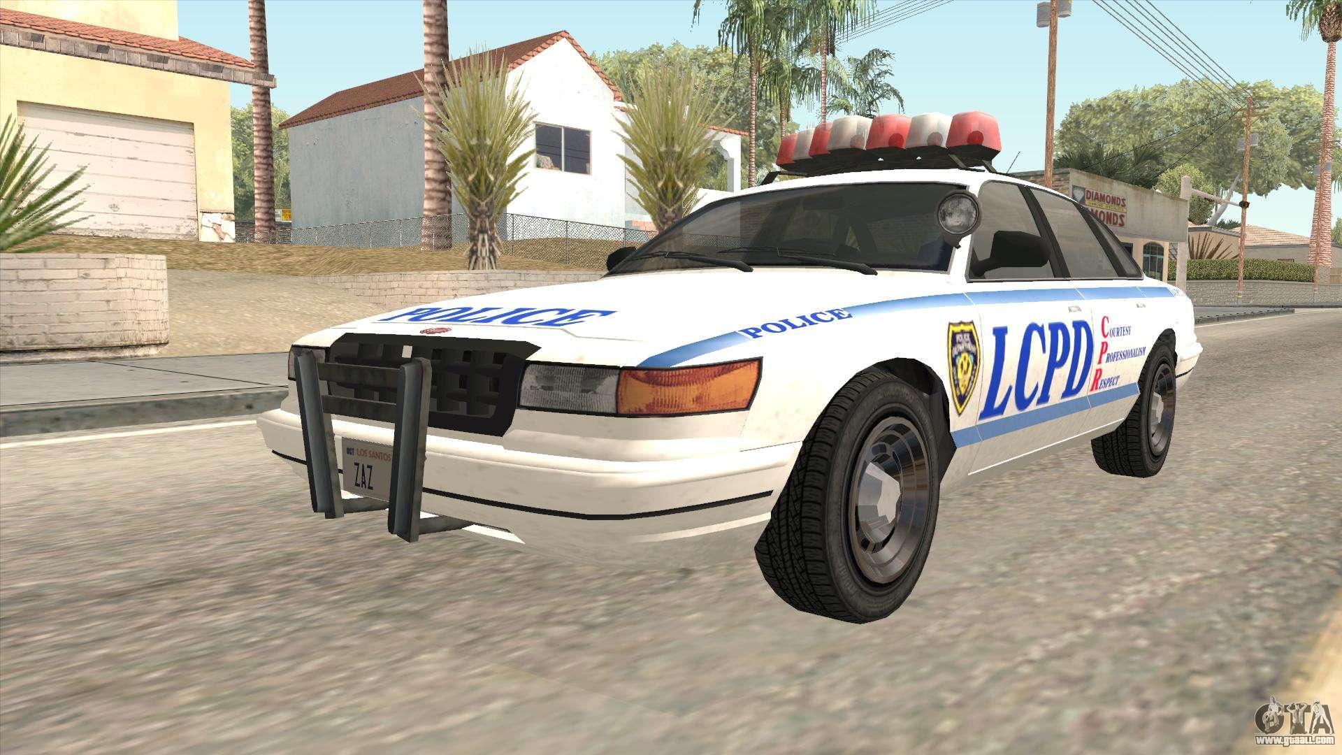GTA 4 Police Stanier for GTA San Andreas